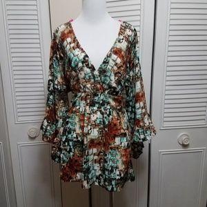 XL Betsey Johnson Longsleeved Mini Dress